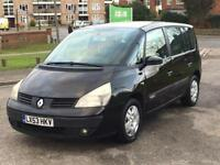 2004 RENAULT ESPACE 2.0T VERY LOW MILEAGE 50K AUTO LONG MOT 7 SEATER ZAFIRA SHARAN GALAXY
