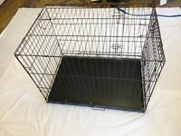 CHARITY SALE: Pet cage 90cm long, 65cm wide and 65cm tall. Money to rescue homeless dogs and cats.