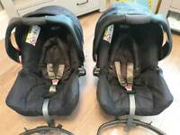 Graco baby car seats- 2 available