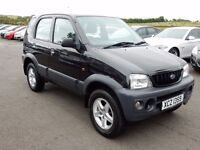 2004 Daihatsu terrios AUTOMATIC with only 45000 miles full history motd june 2018