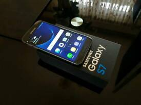 Samsung s7 fully boxed and unlocked