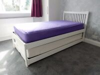 Single bed with full height pull out guest bed. Very good condition.