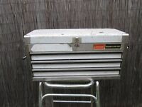 Stainless Steel mechanics garage tool box Cresent industrial Made in USA