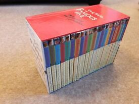 Enid Blyton Famous Five box set, 21 books, great condition, kids books, age 9 - 11 years approx