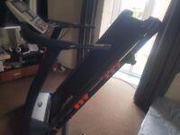 JLL S400 Premium Digital Motorised Treadmill, Auto Incline, Bluetooth (Black)
