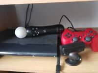For sale ps3 + 12 games + camera + controllers