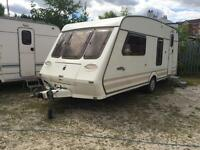 4 BERTH COLCHESTER FLEETWOOD WITH FULL AWNING WITH END KITCHEN AND WE CAN DELIVER