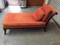 Co0mfortable day bed chaise lounge, free local delivery