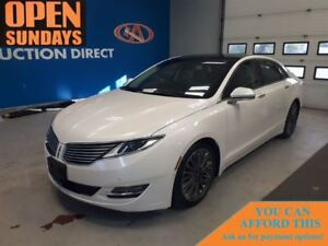 2016 Lincoln MKZ AWD! GLASS ROOF! LEATHER! FINANCE NOW!