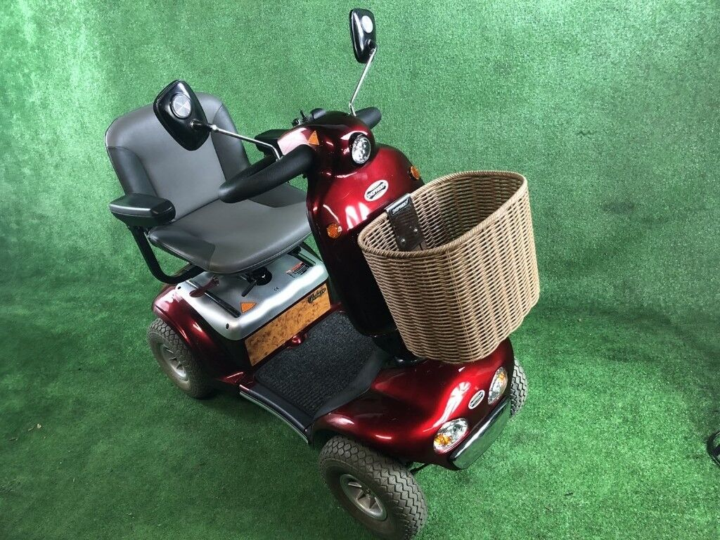 2016 Roma Shoprider Cadiz in Red 6mph Mobility Scooter Mid Size | in ...