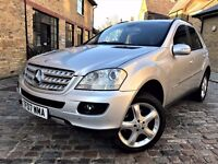 Mercedes-Benz M Class 3.0 ML280 CDI S 7G-Tronic 5dr p/x welcome **FULL S/H**6 MONTHS WARRANTY*