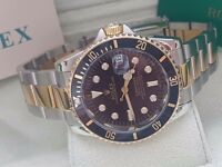 New Swiss Rolex Submariner 2tone for sale!£35!