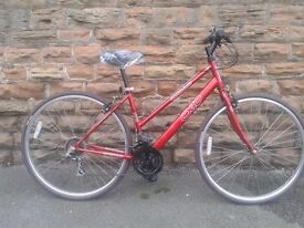 Apollo CX10 Ladies Bike Hybrid Road 700c New Tyres & Saddle Nottingham