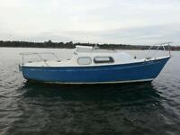 Mirror offshore 19' diesel sailboat