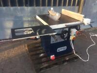 Sedgwick ta315 3 phase Sliding table