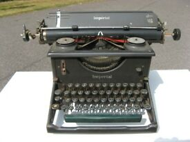 Vintage 1930's Imperial office typewriter