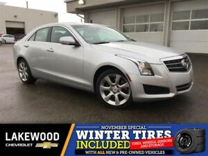 2013 Cadillac ATS 3.6L Luxury (Low k, Heated Leather, Back Up Ca