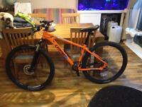 Orange 2017 mountain bike