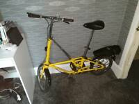 dahon vintage folding bike