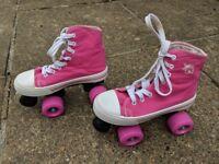 Rookie Canvas Hi top Quad Roller Skates