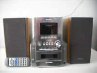 Panasonic SA-PM17 - 5CD changer with radio and cassette