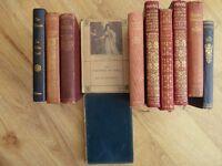 Assorted bundle of Sir Walter Scott novels