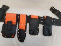 New HI VIZ Scaffolding Tools Belt Padded 4 waist comfort spanner level tape mobile holder