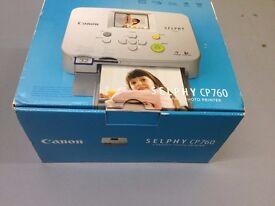 Canon Selphy CP760 Compact Photo Printer - NEW