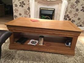 Oak furnitureland Solid Oak coffee table