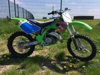 Kawasaki KX125 road legal Q PLATE