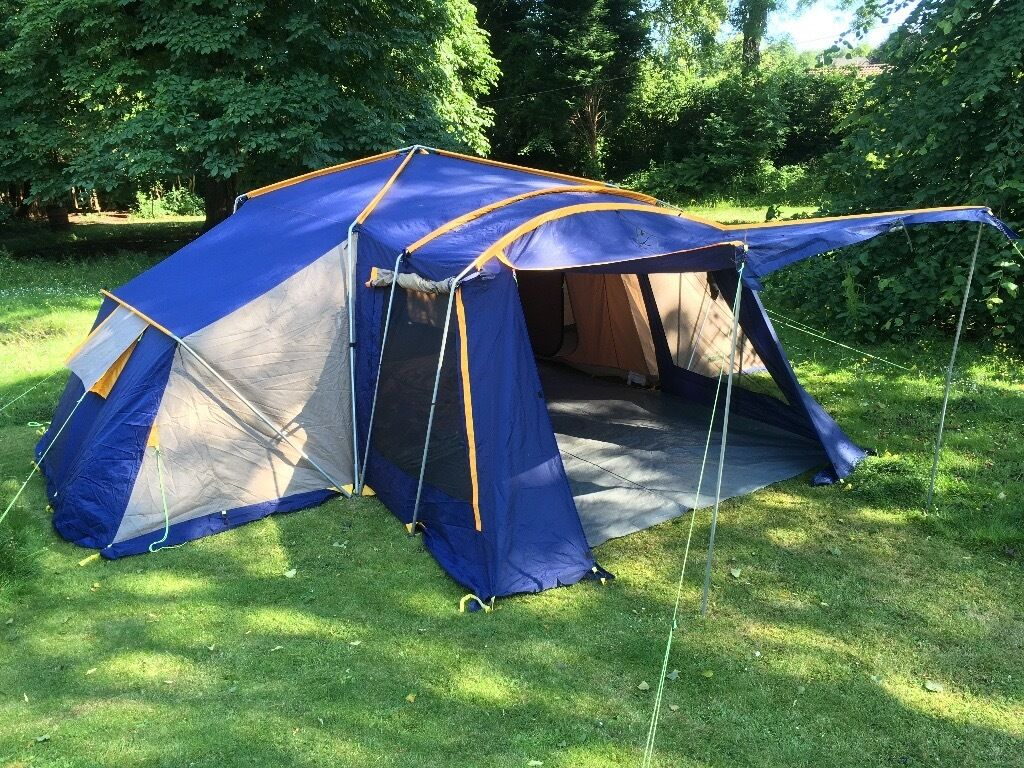 Sunncamp APS 3006 Plus, 6 person family frame tent. Good condition ...