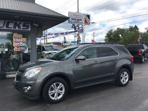 2013 Chevrolet Equinox $173 Bi-weekly!  LT Package, AWD, 6 cyl!!