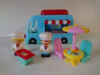 Chad Valley Burger Van Playset toy - CAN DELIVER