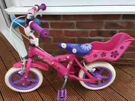 Child's bicycle.