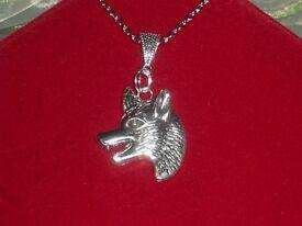 Beautiful Big Bad Wolf Necklace