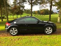 Audi tt 2.0t new model in the best colour met black low miles fsh 2 lady owners genuine lovely car