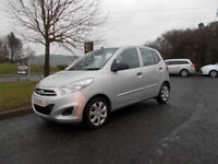 HYUNDAI I10 CLASSIC SILVER NEW SHAPE 2013 ONLY 27K MILES £20 ROAD TAX BARGAIN £2995 *LOOK*PX/DELIVER