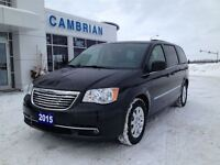 2015 Chrysler Town & Country Touring + Backup Camera!
