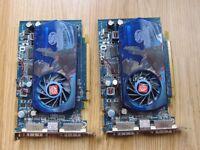 2x ATI Sapphire Radeon HD3650's - 512MB DDR3 PCI-e Dual DVI