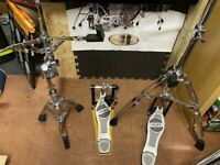 Mapex Premium Hardware - inc Dixon Drum Rack - HH Snare Bass Pedal 3 Cymbal Stands