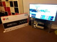 LG 55 Inch SMART TV 55UJ615V 2017 Nearly New