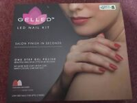 Gelled LED Nail Kit with extras