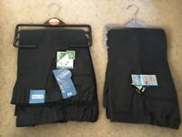 New Boys grey age 4 years school trousers x4 pairs from TU Sainsburys, two are plus fitnew with tags