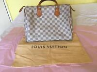Louis Vuitton Speedy Azur Handbag
