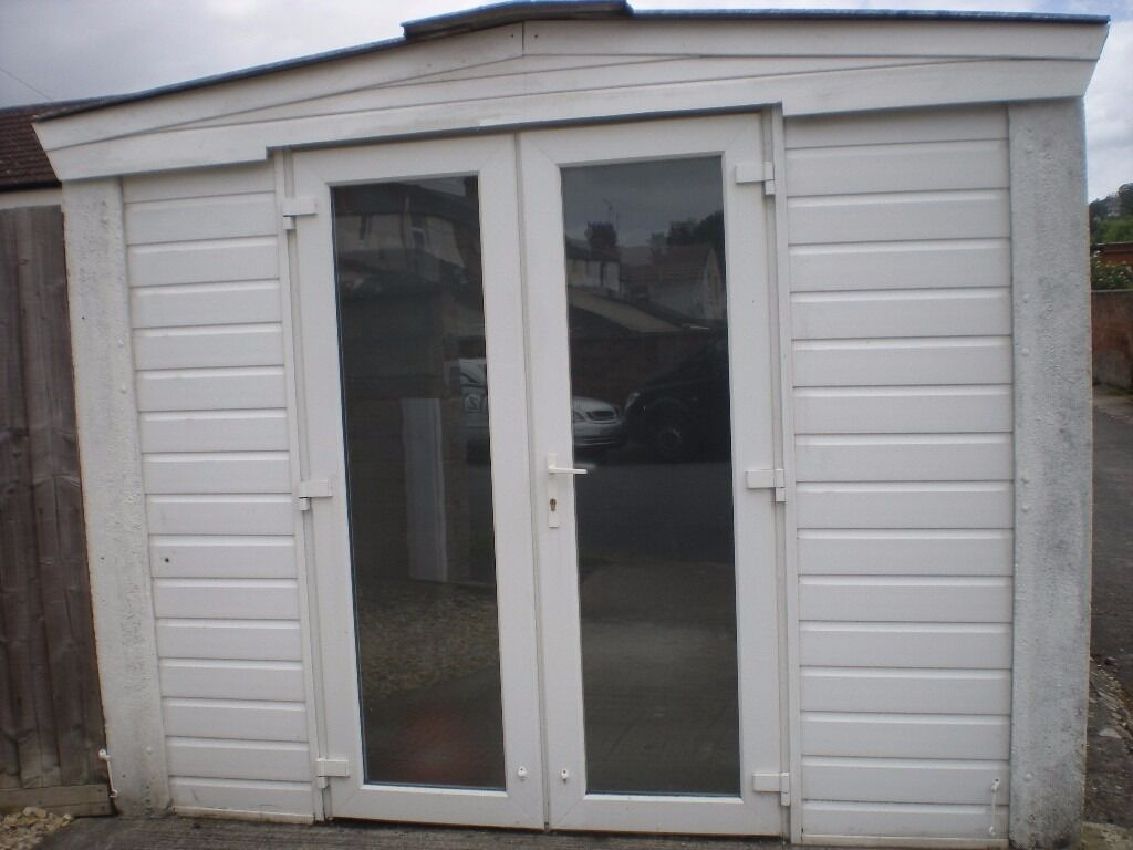 Believed Sold French Doors Upvc Clear Glass With Frosted Film