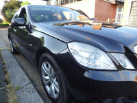 MERCEDES E200 2.1 DIESEL BLUE EFFICIENCY NEW SHAPE FULL SERVICE HISTORY E220 E270 LIKE BMW 320 520D