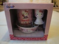 Hello Kitty & Baby Boy bowl sets x 2 - new