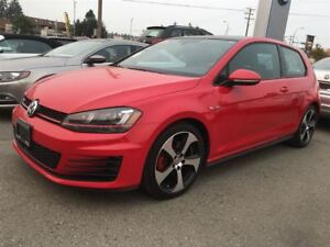 2015 Volkswagen Golf GTI 3DR AUTOBAHN 2.0 TSI 210HP 6SP MANUAL
