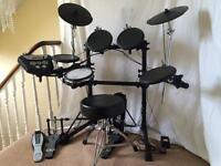 Electric Drum Kit - Roland TD6 - V drum plus Sonar Double Pedal