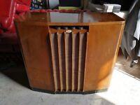 VINTAGE 50s FERGUSON 401 RADIOGRAM GRAMOPHONE Record Player